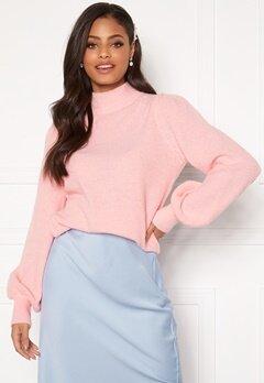 Sandra Willer X Bubbleroom Knitted sweater Light pink Bubbleroom.eu