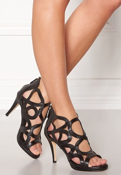 SARGOSSA Redefined Leather Heels Black Bubbleroom.eu