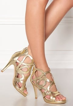 SARGOSSA Redefined Gold Heels Gold Bubbleroom.eu