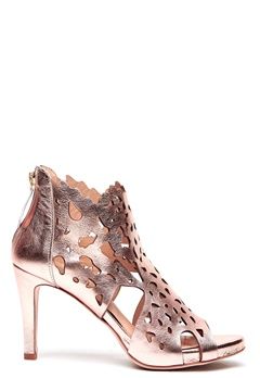SARGOSSA Shades Nappa Leather Heels Rose Gold Bubbleroom.eu