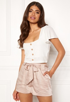 Rut & Circle Satin Belt Shorts 151 Sand Bubbleroom.eu