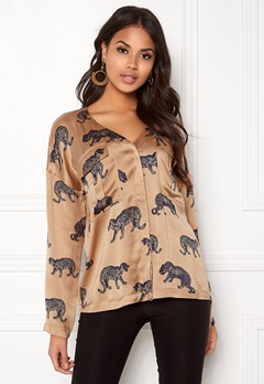 Twist & Tango Savannah Blouse Cheetah Print Bubbleroom.eu
