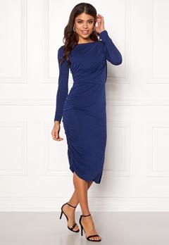 SELECTED FEMME Helen LS Dress Blue Depths Bubbleroom.eu