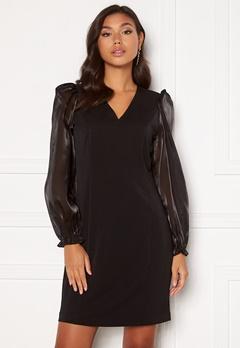 SELECTED FEMME Jomena LS Short Dress Black Bubbleroom.eu