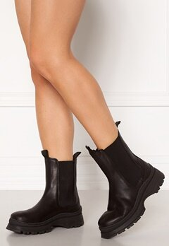 SELECTED FEMME Lucy Leather Chelsea Boot Black Bubbleroom.eu