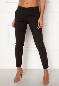 SELECTED FEMME Muse Fie Cropped MW Pant Black Bubbleroom.eu