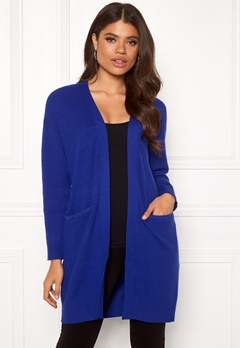 SELECTED FEMME Philua LS Knit Cardigan Clematis Blue Bubbleroom.eu