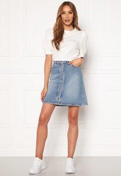 SELECTED FEMME Rose MW Denim Skirt Medium Blue Denim Bubbleroom.eu