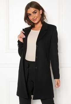SELECTED FEMME Sasja Wool Coat Black Bubbleroom.eu