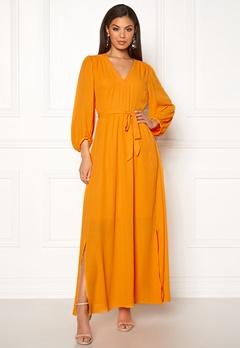 SELECTED FEMME Zix 3/4 Maxi Dress Radiant Yellow Bubbleroom.eu