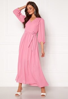 SELECTED FEMME Zix 3/4 Maxi Dress Rosebloom Bubbleroom.eu