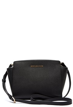 Michael Michael Kors Selma MD Messenger 001 Black Bubbleroom.eu