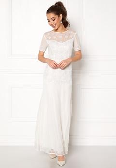 AngelEye Sequin Embellished Dress White Bubbleroom.eu