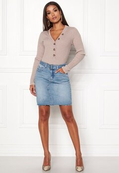ONLY Signe Short Denim Skirt Light Blue Denim Bubbleroom.eu