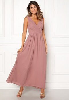 Sisters Point Gally Maxi Dress 587 Old Rose Bubbleroom.eu