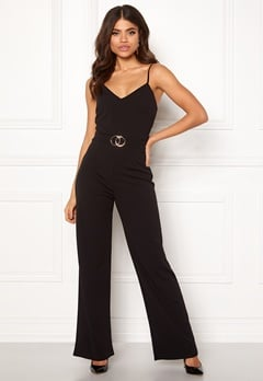 Sisters Point Galma Jumpsuit 001 Black/Gold Bubbleroom.eu