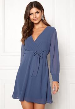 Sisters Point Gerdo Dress 050 Grey/Blue Bubbleroom.eu