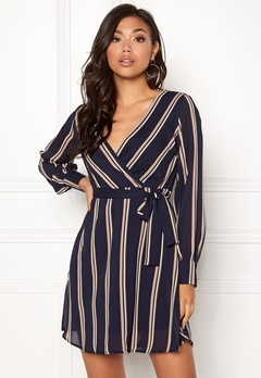 Sisters Point Gerdo Dress 441 Navy Stripes Bubbleroom.eu
