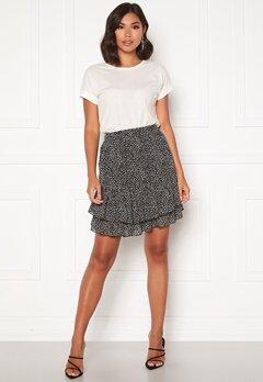 Sisters Point Grow Skirt 001 Black/Leopard Bubbleroom.eu