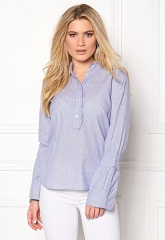 Sisters Point IMA-SH1 Shirt Blue/White Bubbleroom.eu
