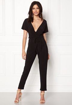 Sisters Point Loft-JU1 Jumpsuit Black Bubbleroom.eu