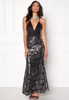 Sisters Point Nalow Dress Black/Silver Bubbleroom.eu
