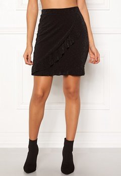 Sisters Point Napo Skirt 001 Black/Silver Bubbleroom.eu