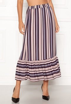 Sisters Point Varna Skirt 117 Cream/Blue strip Bubbleroom.eu