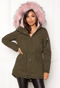 Sixth June Parkas Faux Fur Hood Jkt KABB Bubbleroom.eu