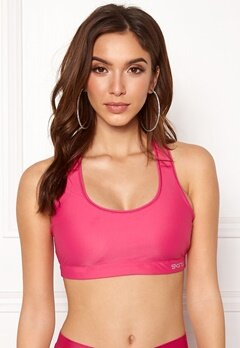 Skins Flux Sports Bra Pink Bubbleroom.eu