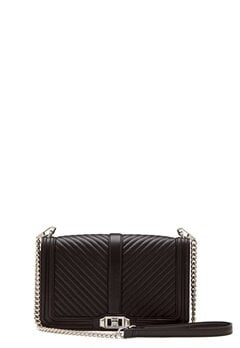 Rebecca Minkoff Slim Love Crossbody Bag Black Bubbleroom.eu