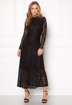 SOAKED IN LUXURY Lilo Dress Black Bubbleroom.eu