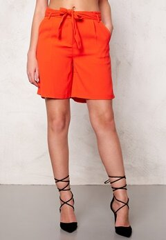 SOAKED IN LUXURY Shirley Shorts Tangerine Bubbleroom.eu