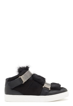 SOFIE SCHNOOR Boot With Fur Black Bubbleroom.eu
