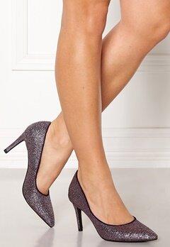 SOFIE SCHNOOR Shoe High Heel Glitter Purple Glitter Bubbleroom.eu