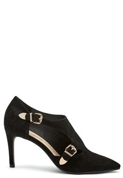 SOFIE SCHNOOR Shoe Stiletto Suede Black Bubbleroom.eu