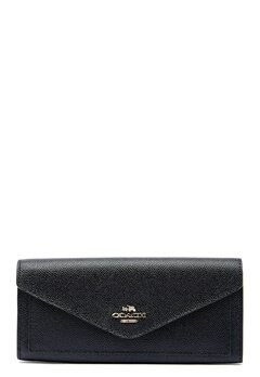 COACH Soft Wallet LIBLK Black Bubbleroom.eu