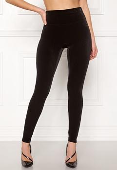 Spanx Velvet Leggings Very Black Bubbleroom.eu