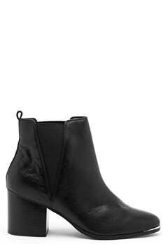 Steve Madden Flaknei Boot Black Leather Bubbleroom.eu