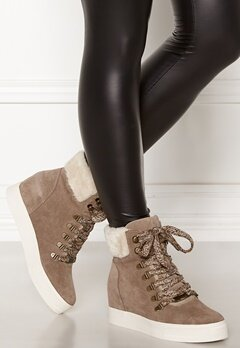 Steve Madden Windy Suede Boots Taupe Bubbleroom.eu