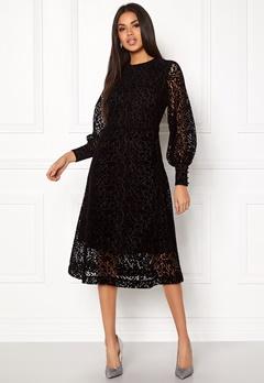 Stylein Grace Dress Black Bubbleroom.eu
