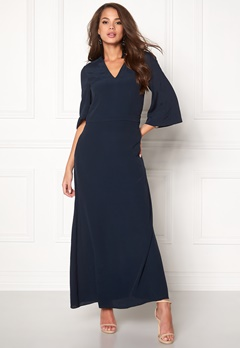 Stylein Siho Dress Dark Navy Bubbleroom.eu