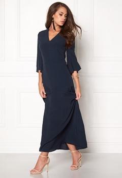 Stylein Siho Dress Dark Navy Bubbleroom.eu