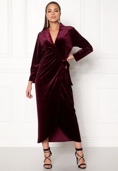 Stylein Taylor Dress Plum Bubbleroom.eu