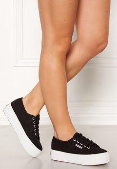 Superga Acotw Linea Sneakers Black-FWhite Bubbleroom.eu