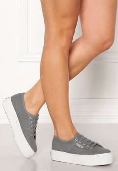Superga Acotw Linea Sneakers Grey DK Sage Bubbleroom.eu