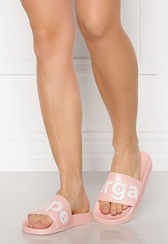 Superga Puu Superga Sandals 929 Pink Skin-White Bubbleroom.eu