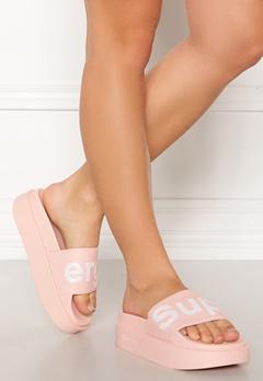 Superga Puw Shoes 929 Pink Skin-White Bubbleroom.eu