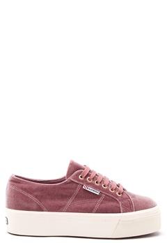 Superga Velvet Sneakers Pink Dusty Rose Bubbleroom.eu