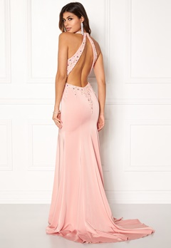 SUSANNA RIVIERI Sequin maxi Dress Rose Bubbleroom.eu